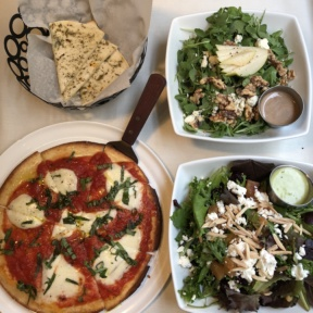 Gluten-free lunch spread from Barra Rossa