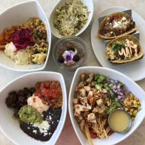 Gluten-free lunch from Tocaya Organica