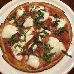Gluten-free Margherita pizza from Ella's Pizza