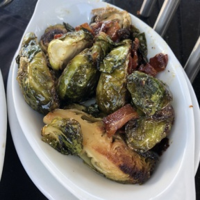 Brussels sprouts from Ruth's Chris Steak House