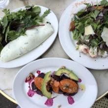 Gluten-free lunch at Parc Restaurant