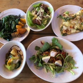 Gluten-free dishes from Kitchen Table at 1440 Multiversity
