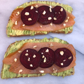 Gluten-free Smoked Salmon Avocado Toast