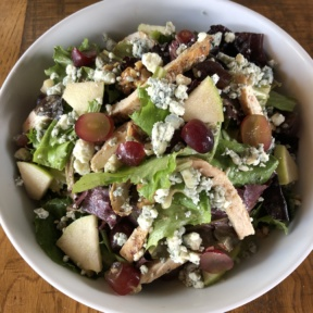 Gluten-free Waldorf chicken salad from California Pizza Kitchen