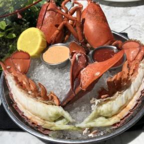 Gluten-free lobster cocktail from Herringbone