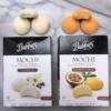 Mochi ice cream by Bubbies Ice Cream