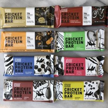Gluten-free bars by Exo Protein