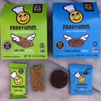 Gluten-free cookies and bars by FreeYumm
