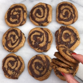 Gluten-free Brownie Swirl Cookies