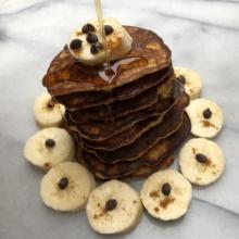 Paleo Spiced Banana Pancakes
