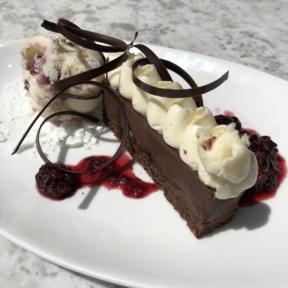 Gluten-free chocolate torte from Herringbone