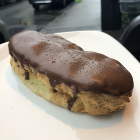 Eclair from Senza Gluten Cafe & Bakery