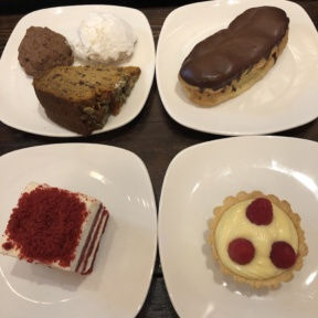 Gluten-free cakes from Senza Gluten Cafe & Bakery