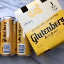 Gluten-free blonde ale by Glutenberg