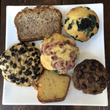Gluten-free baked goods from Senza Gluten Cafe & Bakery