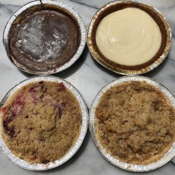 Gluten-free vegan pies from Raised Gluten Free