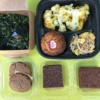 Gluten-free veggies and baked goods from Hu Kitchen