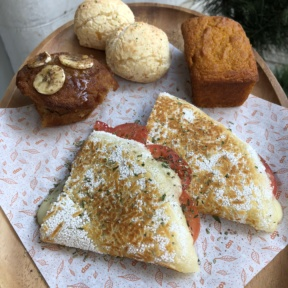 Gluten-free tapioca crepe and baked goods from TAP