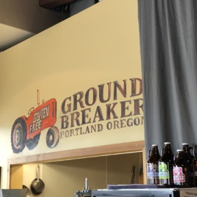 100% gluten-free at Ground Breaker Brewing