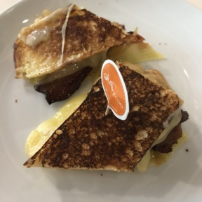 Gluten-free grilled cheese from Friedman's