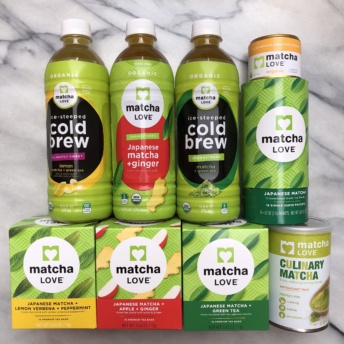 Gluten-free matcha products from matchaLOVE