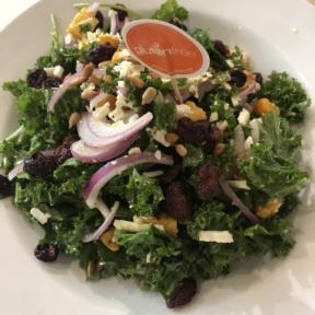 Gluten-free kale salad from Friedman's
