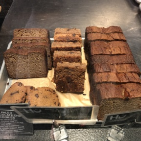 Gluten-free baked goods from Hu Kitchen