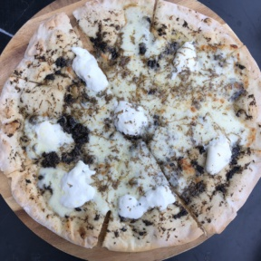Gluten-free pizza from N.10 Restaurant