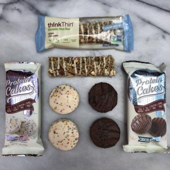 Gluten-free protein bars from thinkThin