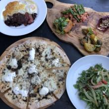 Gluten-free brunch spread from N.10 Restaurant