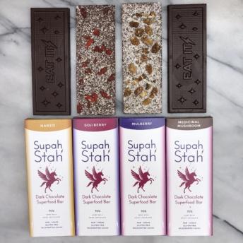 Gluten-free vegan chocolate from Supah Stah