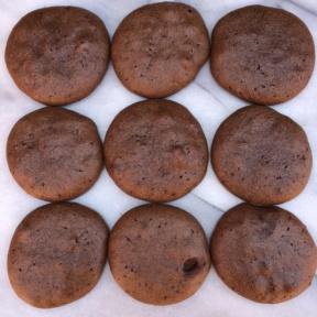 Gluten-free Chocolate Peanut Butter Protein Cookies