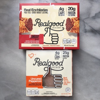 Gluten-free pizza and enchiladas from Real Good Foods