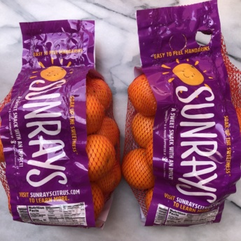 Non-GMO project verified mandarins from Sunrays
