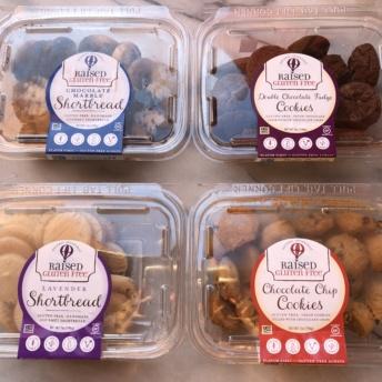 Gluten-free cookies from Raised Gluten Free
