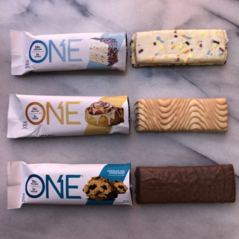 Gluten-free protein bars from ONE Brands