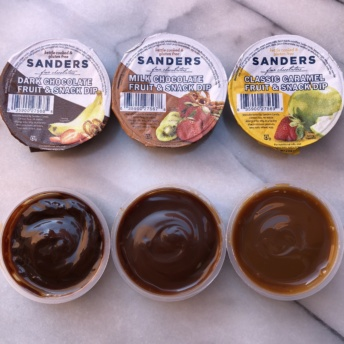 Chocolate dips from Sanders Candy