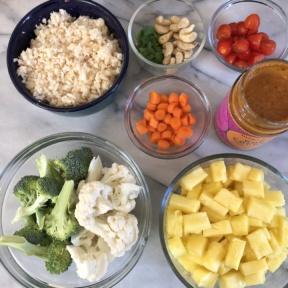 Making gluten-free Vegetarian Curry