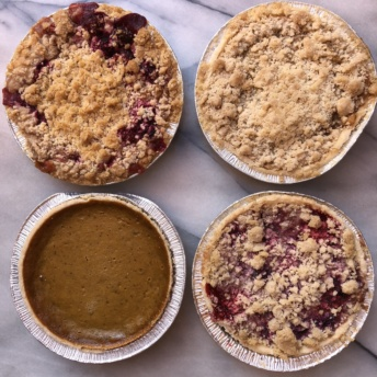 Gluten-free fall pies from Raised Gluten Free