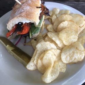 Gluten-free veggie sandwich from New Cascadia