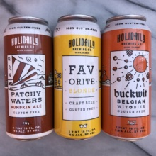 Gluten-free beer from Holidaily Brewing Co