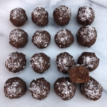 Paleo Protein Bites with Creation Nation energy ball mix