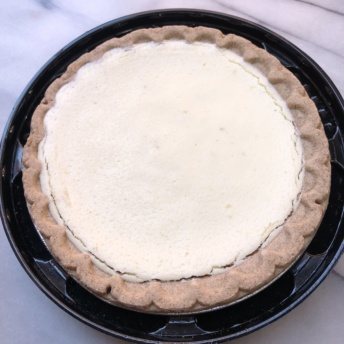 Gluten-free nut-free key lime pie from Yumbana