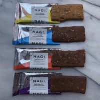 Gluten-free energy bars from Nagi