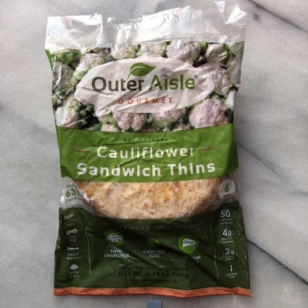 Gluten-free sandwich thins by Outer Aisle Gourmet