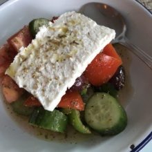 Greek salad from Inotheke
