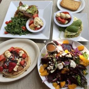 Gluten-free lunch from Jinky's Cafe in Santa Monica