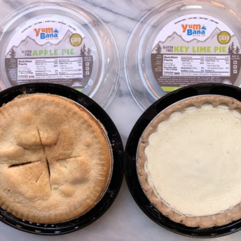 Gluten-free pies from Yumbana