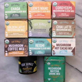 Gluten-free mushroom coffees from Four Sigmatic