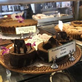 Flourless chocolate cake from Urth Caffe